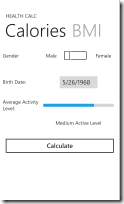 HealthCalc - ScreenShot_01